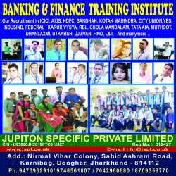 JSPL Banking & Finance Training Institute