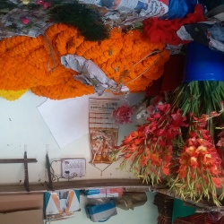 Om Sai Flower Decoration